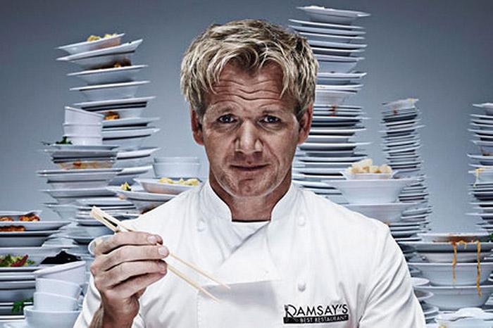 """دو برنامه با نامهای """"کابوسهای آشپزخانه"""" و """"آشپزخانه جهنمی"""" توسط گوردون تهیه و پخش میشوند"""