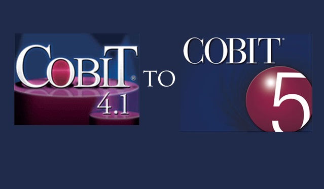 COBIT 4.1 vs COBIT 5