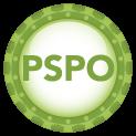 لوگوی دوره PSPO