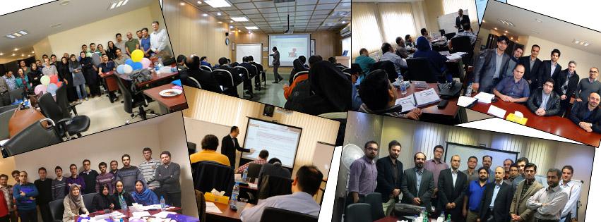 کارگاههای آموزشی: ITIL, COBIT, SCRUM, Service Desk