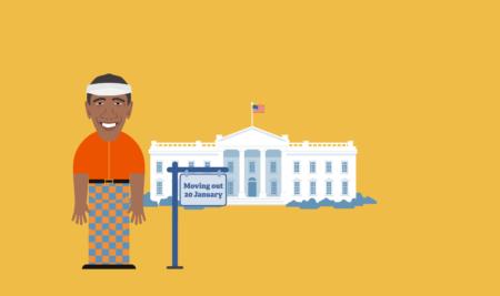 پروژه ای برای ورود یک رئیس جمهور جدید به کاخ سفید و خروج رئیس جمهور قبلی!