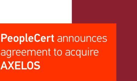 PeopleCert اطلاعیهای در خصوص خرید کمپانی AXELOS منتشر کرد!